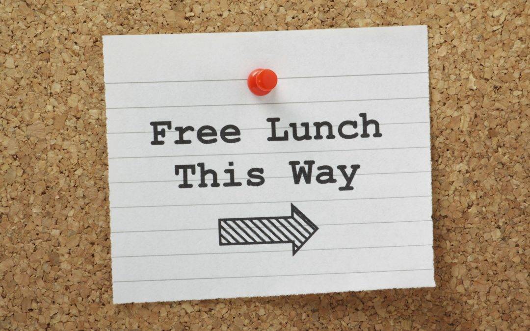 Free lunch costs too much